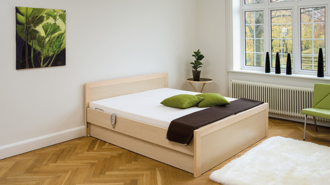 RotoFlex E in domestic double bed