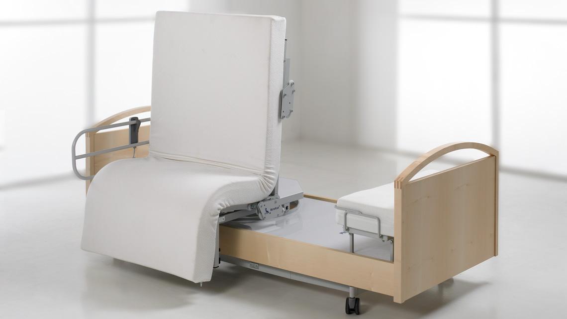RotoFlex P freistehendes Pflegebett